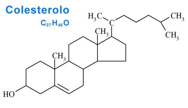 colesterolo-struttura-chimica